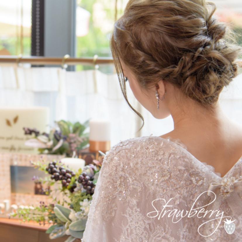 結婚式 ヘアセット ショート セルフ